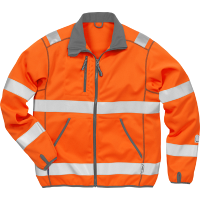 Varsel Softshell-jacka 4840 SSL, kl 3 - Orange