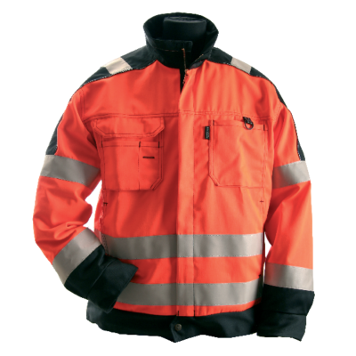 JACKA 782 HIVIS KL3,ORANGE/SVA