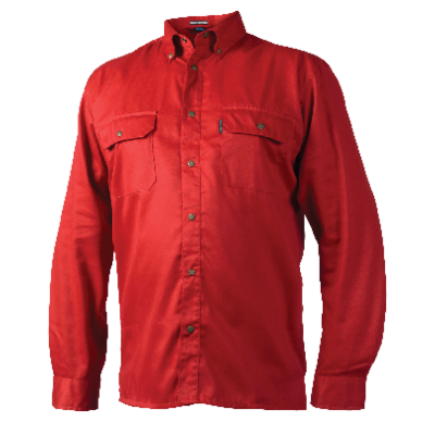 SHIRT PES65/CO35 RED