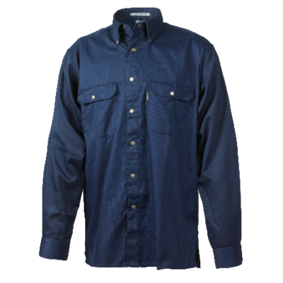 SHIRT PES65/CO35 SAILOR BLUE